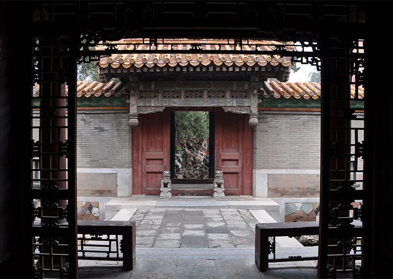 寧壽宮花園第二進院垂花門