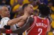 NBA季后赛-库里砍24分伤退 勇士大胜1-0火箭