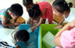 河南一幼儿园停电多日 教室放冰块降温