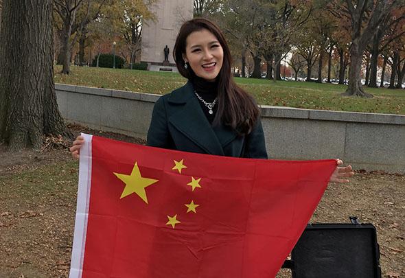 【燕女郎第137期】实拍中国小姐身穿旗袍亮相美国国会