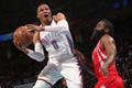 NBA-正视频直播火箭vs雷霆 哈登韦少巅峰对决