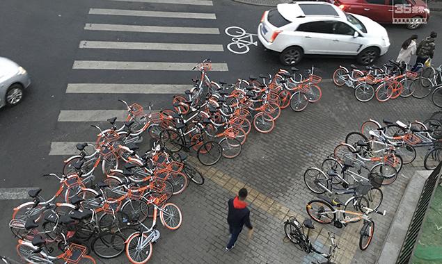 北京共享单车频遭黑手 到底触犯了谁