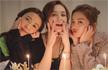 薛凯琪与阿Sa为阿娇庆生 三个美少女好养眼