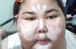 泰国大脸妹自信教人化妆,化完后我也是惊呆的!