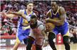 NBA-勇士灭火箭豪取8连胜 哈登赛季第20次三双