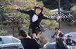 朴槿惠女警卫引关注:身高175cm 武术高强