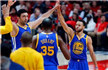 NBA-勇士4-0横扫开拓者晋级 库里三节37+7+8