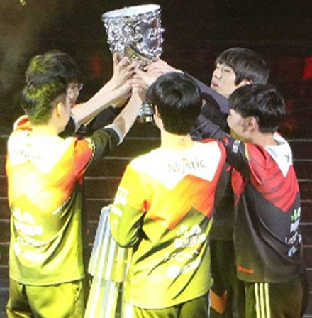 LPL春季赛WE夺冠 将出征MSI