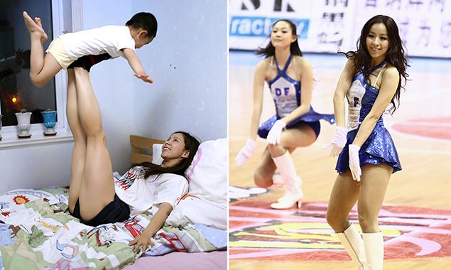【点京58期】她是球场上的热辣宝贝 生活中的贤惠妈妈