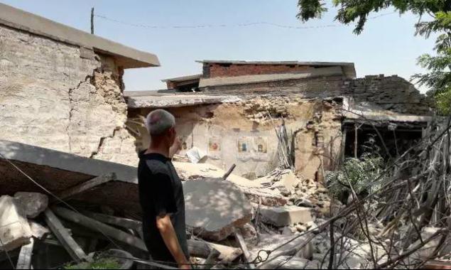 河北一百年老宅塌陷出现一深洞 文物部门已介入