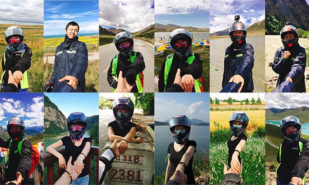 【点京第72期】情侣放弃北漂生活 骑着摩托车环游中国