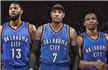 NBA重磅交易达成!安东尼加盟雷霆组成三巨头