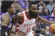 NBA-火箭背靠背两连胜 哈登27分9助攻
