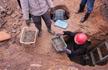 江西景德镇一村庄出土4000多公斤古钱币