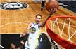 NBA-库里39+11+7六犯离场 勇士险胜篮网