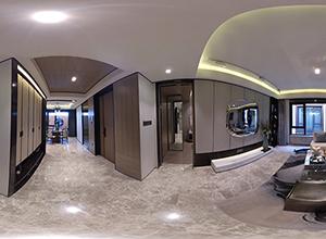 中铁华侨城·和园135平米三室两厅