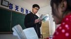 他教的农村学生平均看书300本