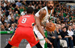 NBA-浓眉哥狂轰45+16 鹈鹕加时终结绿军7连胜