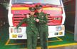 31岁消防战士牺牲:有人被困 他第一个冲进火场