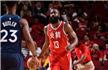 NBA-哈登31分火箭11连胜 詹皇三双骑士逆转