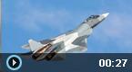 俄T-50战机叙利亚首亮相