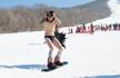 吉林举办光猪滑雪节 300余名滑雪爱好者参与