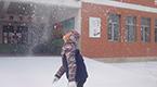 村里娃寄来了一整个冬天