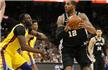 NBA-阿德33+12马刺复仇勇士 詹皇三双骑士胜