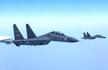 中国空军混合编队飞越宫古海峡 日本战机跟踪