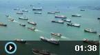 渤海湾百船出海场面震撼
