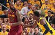 NBA季后赛-骑士遭逆转1-2步行者 雄鹿大胜绿军