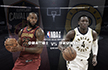 NBA季后赛-正播骑士vs步行者 马刺擒勇士总分1-3