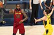 NBA季后赛-骑士险胜步行者总分2-2 马刺擒勇士