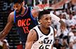 NBA季后赛-爵士大胜3-1雷霆 火箭单节50分胜森林狼