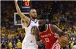 NBA-勇士41分狂胜火箭总分2-1 库里单节18分