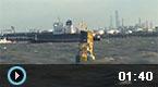 上海两货轮相撞 一艘沉没