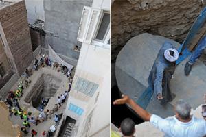 埃及居民区地下挖出30吨重石棺 网友直呼不要打开