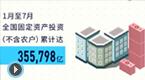 7月国民经济运行数据发布
