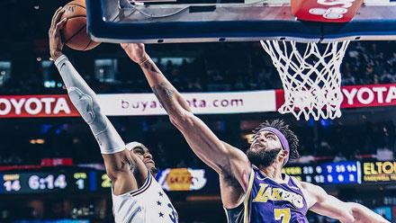 NBA十佳球:哈里斯残暴隔扣麦基 东契奇独占三席