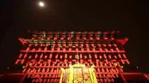 北京德胜门近600年首次灯光秀
