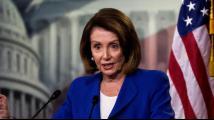 """美民主党领袖佩洛西动员众议院投票 停止""""国家紧急状况"""""""