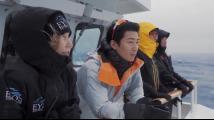 下水30秒变冰棍!娱乐圈老炮搭伙小鲜肉挑战南极冰潜