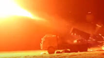 实拍部队4500米高原实弹射击