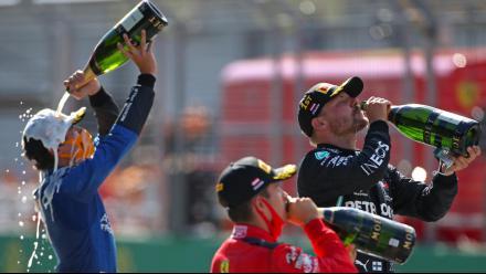 F1奥地利站:博塔斯夺冠 汉密尔顿无缘领奖台
