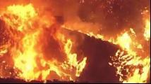美国加州山火重燃