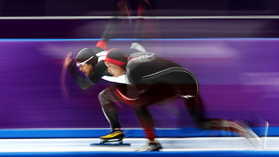 Gao Becomes First Chinese Male Athlete to Win Olympic Medal in Speed Skating