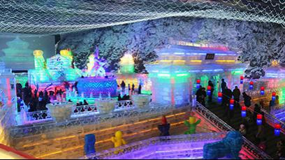 Opening of the 30th Ice Lantern Art Festival in Longqingxia