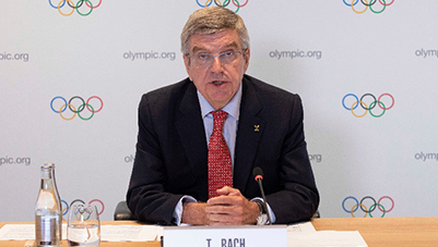 """IOC president: Beijing 2022 preparations """"on track and going well"""""""