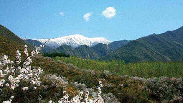 Belle vue du Mont Xiaohaituo enneigé
