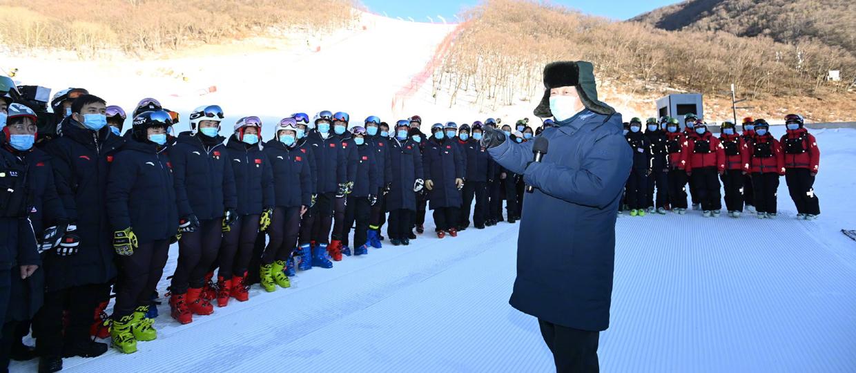 Xi Jinping inspecte les préparatifs de Beijing 2022
